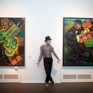 «Чарли Чаплин в Тифлисе».  Новая экспозиция Музея современного искусства Зураба Церетели в Тбилиси