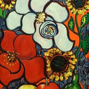 Выставка «Цветы для Маэстро SZ. Зураб Церетели – Вячеславу Зайцеву» в Плёсе.