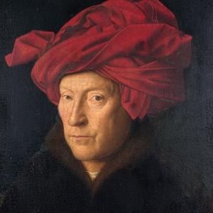 Ван Эйк. Портрет мужчины