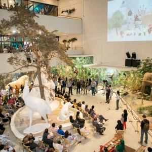 Открытие выставки «Все краски Азии» в Дарвиновском музее.