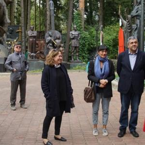 Визит Генерального секретаря Всемирной туристской организации ЮНВТО (UNWTO) в Музей-мастерскую З.К.Церетели в Переделкино