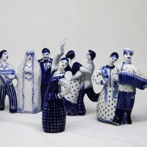 Скульптурная группа СВАДЬБА.1980.