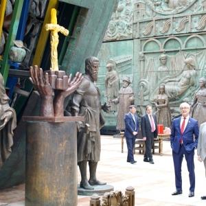 Вручение регалий почетного зарубежного члена Российской академии художеств  Генеральному директору ЮНЕСКО Одре Азуле.