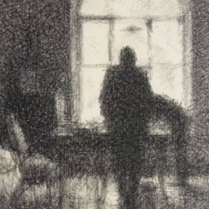 Выставка «Сцены частной жизни. Интерьер в графике XX века» в рамках проекта Третьяковская галерея открывает свои запасники.