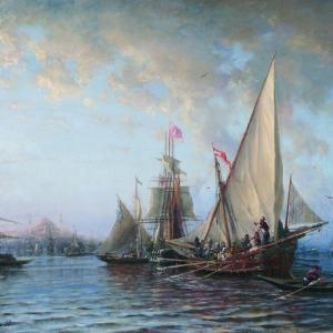 А.П.Боголюбов. Дарданеллы.1873.