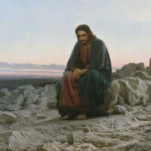 И.Н.Крамской . Христос в пустыне. 1872. ГТГ