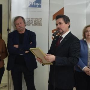 Выставка к 10-летию Мордовского регионального отделения Союза дизайнеров в Саранске.
