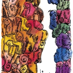 Выставка «Париж для своих. Пабло Пикассо, Марк Шагал, Зураб Церетели» в Москве. З. Церетели. Дон Кихот