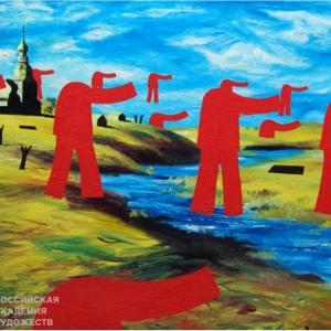 «Трансформация пейзажа». Выставка произведений Алексея и Игоря Новиковых в Плёсе.