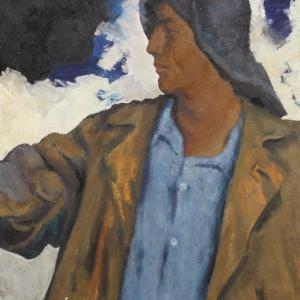 Выставка произведений Александра Мичри в Казани.