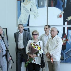 «Диалоги».  Выставка произведений Светланы Демкиной и Акопа Халафяна.
