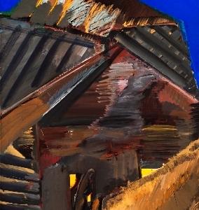 «Земное-небесное». Выставка произведений Ирины Калининой в Рязани