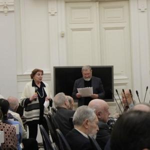 На заседании Президиума РАХ 7 марта 2017 года
