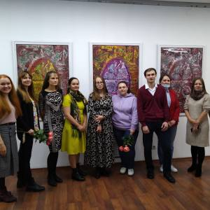 Члены РАХ - участники выставки «Творческий полёт» в Красноярске