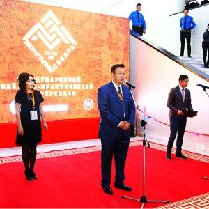 08.10.2018. Открытие выставки произведений молодых художников и скульпторов Монголии в Улан-Баторе
