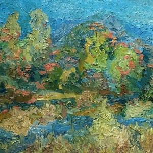 «От натуры к образу». Выставка произведений А.Рубец в Астрахани.