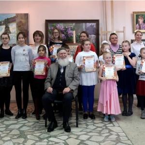 Награждение победителей Всероссийского конкурса детского художественного творчества «Снегири 2018»