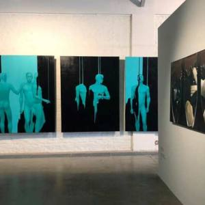 «THE PROCESS. New Academy». Выставка мастерской Айдан Салаховой и Сергея Оссовского на Винзаводе.