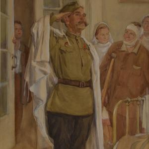 Выставка «75 на 75» ко Дню Победы в Ставрополе