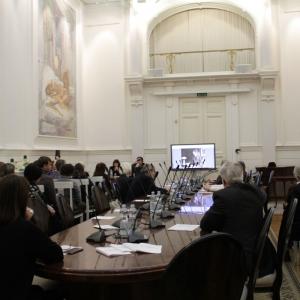 30.11.2018. Российская академия художеств. Конференция «Новые технологии в развитии современного художественного стекла»