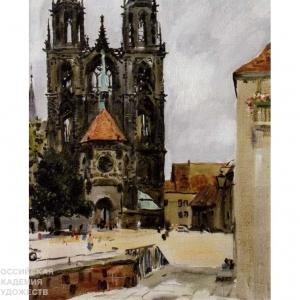 «Красочный мир мастера». Выставка произведений В.С.Песикова в НИМ РАХ