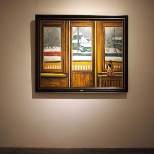 Выставка произведений Таира Салахова в Пекине.