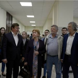 Выставка С.П. Гулевского в Воронежском государственном университете