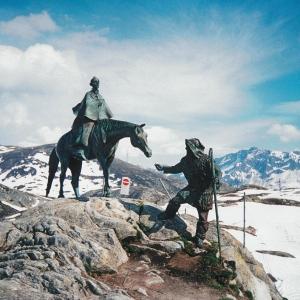 Д.Н.Тугаринов. Суворов. 1999. Сен-Готард. Швейцария