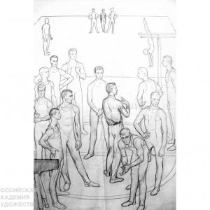 «Сотворение мира». Выставка произведений Дмитрия Жилинского. К 90-летию со дня рождения художника.