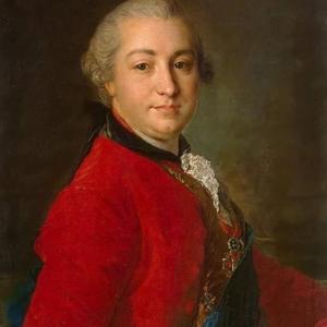 Ф.С. Рокотов. Портрет И.И. Шувалова. 1760.