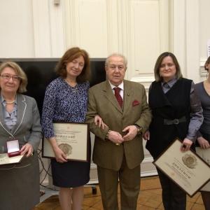 На заседании Президиума Российской академии художеств 19 апреля 2016 года