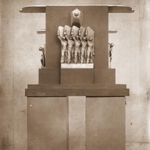 М.С.Рукавишников. Проект памятника советскому аэростроительству. 1932