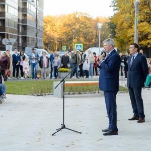 Памятник архитектору Николаю Троицкому созданный членами РАХ открыт в Воронеже.