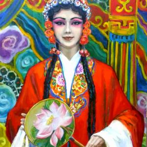 П.В. Илюшкина. Актриса китайского театра. 2018