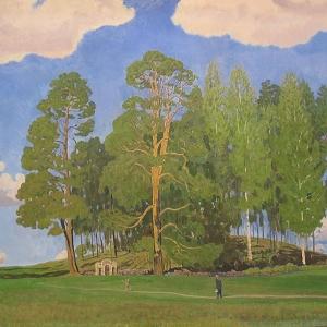 В.М.Сидоров. Святая гора, 2002