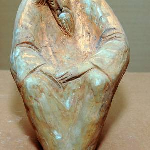 Выставка произведений Татьяны Бусыревой. Скульптура.