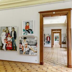 «Художник и время». Выставка произведений Виктора Псарёва в Российской академии художеств
