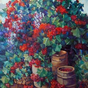 Выставка произведений Николая Ротко в Красноярске.