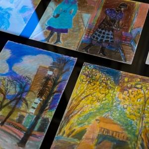 «Мой сад, мой цвет». Выставка произведений Ирины Лотовой в Российской академии художеств