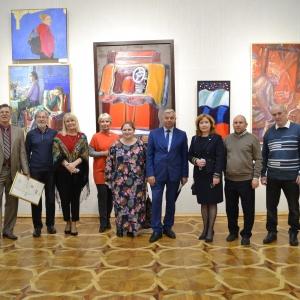 Шестая межрегиональная выставка-конкурс «Красные ворота/Против течения» в Саранске