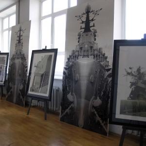 Выставочный проект Бориса Бельского «Корабельная архитектура» а МУАР
