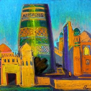 Мастер-классы в рамках выставки «Вдоль Волги и Каспия: наследие Шелкового пути» в Казанском Кремле