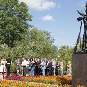 Монумент «1914» работы В.Э.Горевого открыт в Царском Селе.