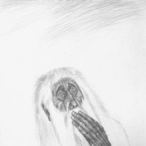 А.М. Муравьев.  Плач Иеремии о Иерусалиме. Из серии «Библейские сюжеты». бум., картон. 86х62 см. 2013-2014