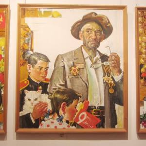 «Харис Якупов. Человек-эпоха». Выставка к 100-летию со дня рождения художника в Казани