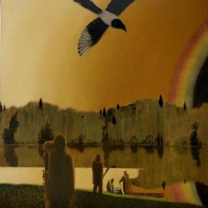 Выставка произведений Ивана Лубенникова на Покровке, 37.