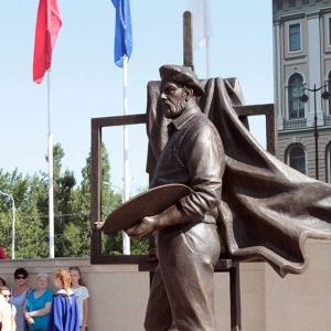 21.08.2018. Памятник А.А.Мыльникову (1919-2012) открыт в г. Энгельсе.