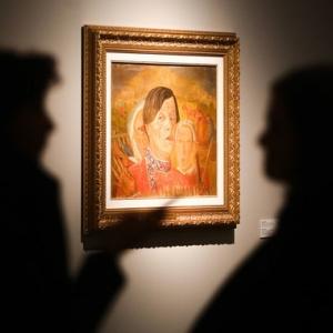 Выставка «Непарадный портрет. Искусство XX века» на ВДНХ.