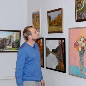 «На земле Бориса и Глеба». Выставка по итогам пленэра с участием членов РАХ в Борисоглебске