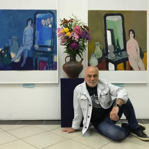 «Последний день лета». Выставка произведений А.Любавина в Костроме.